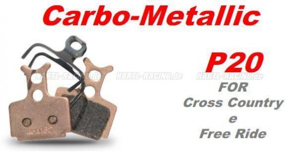 BRAKING® Bremsbelag Carbo-Metallic P20