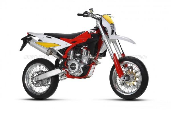 Haan Supermoto Räder - SWM SM450R