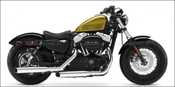 Jonich Speichenräder - Harley Davidson Forty Eight 1200