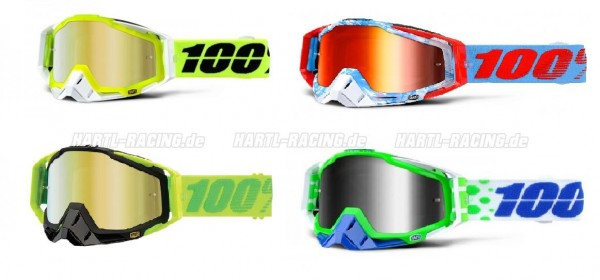 100% Racecraft Mirror MX Brille