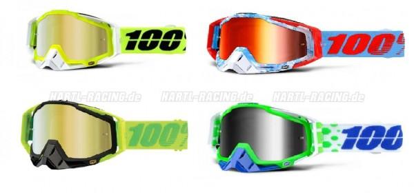 100% Racecraft Mirror MX Brille