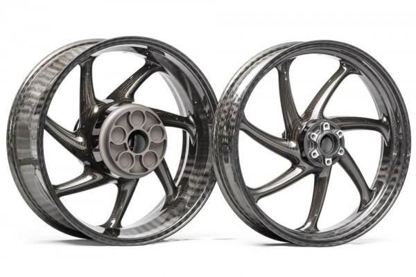 Carbon Räder von TKCC - BMW S1000R/RR (mit Gussradsatz)