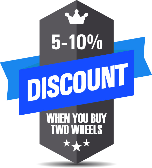 Discount when you buy two wheels. Copyright Fotolia annrami